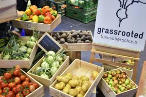 Der Verein Grassrooted verkauft Gemüse und Obst zweiter Klasse