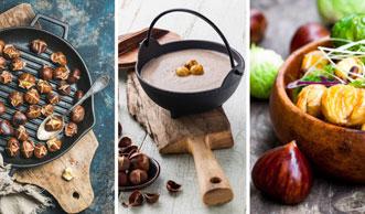 Die besten Marroni-Rezepte für den Ofen, die Pfanne und  die Presse