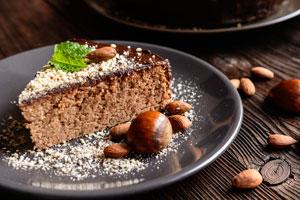 Marronicake Rezept mit Schokoladenüberzug
