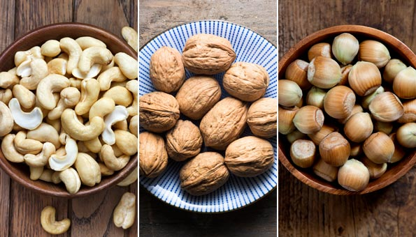 Nüsse: Die 8 gesündesten Nusssorten