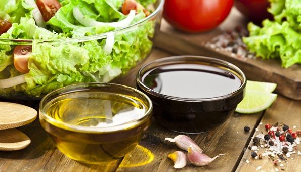 Das einfache Salatdressing