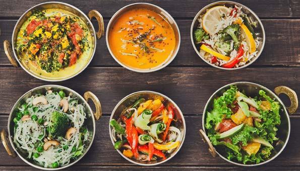 Vegetarische und vegane Restaurants in Luzern: die besten
