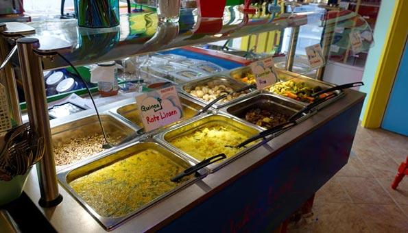 Veganes Restaurant Luzern: Peacefood