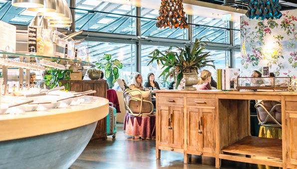 Veganes und vegetarisches Restaurant Luzern: Tibits