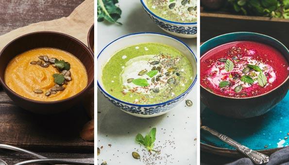 Wintersuppen: feine Rezepte für Suppen