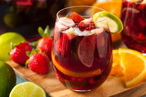 Bowle Rezept mit und ohne Alkohol: Tea-Party