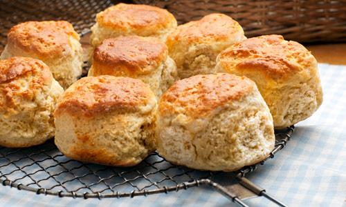 Brot selber backen ohne Hefe: Scones