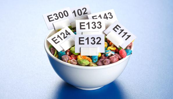 E-Nummern und Zusatzstoffe in Lebensmitteln