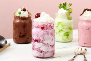 Frozen Joghurt ist sehr einfach selber zu machen.