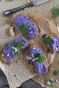 Kabis Rezepte: Brotaufstrich mit Rotkabis