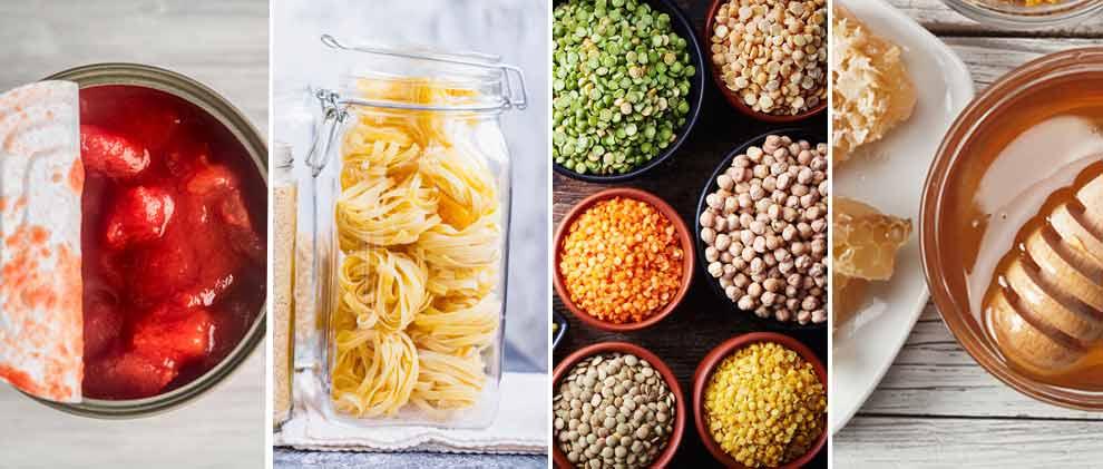 17 Lebensmittel, die viel länger halten als draufsteht