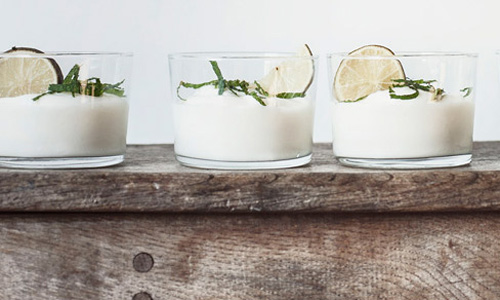 Vegane Desserts: Limettencreme