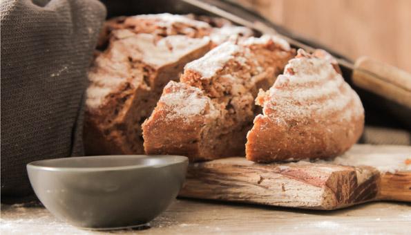 Feines Marronibrot selber backen – glutenfrei & vegan