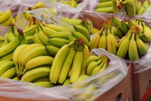 Bananenschalen sind voller Pestizide