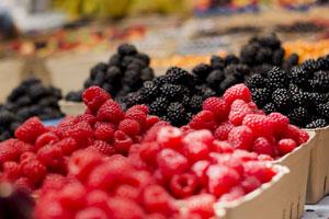 Pestizide auf Beeren wie Erdbeeren oder Heidelbeeren