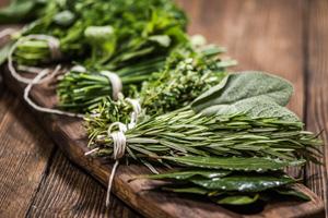 Pestizide fan Kräutern und Tee