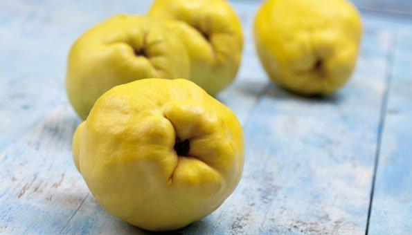 Quitten machen sich hervorragend in einem Gelee