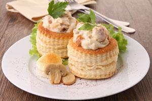 Schwarzwurzel-Rezept: Pastetchen mit Schwarzwurzel und feiner Pilzsauce