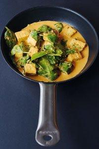 Tofu Rezept: Tofu Misang asiatische Art