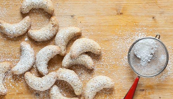 Vanillekipferl: Rezept für den Klassiker plus vegane Variante