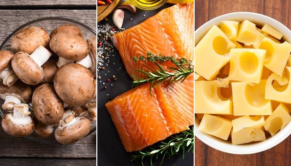 Vitamin D: Mit Nahrungsmitteln Mangel ausgleichen