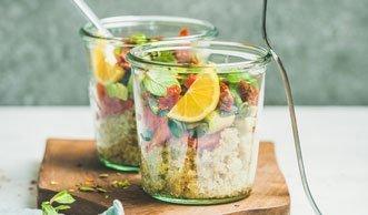 Salat zum Mitnehmen: Diese Rezepte sind wunderbar «to go»