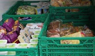 Die Schweizer Tafel verteilt täglich 16 Tonnen Lebensmittel