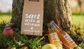 Gewinnen Sie 4x1 Geschenkset mit Apfelsaft von Gartengold!