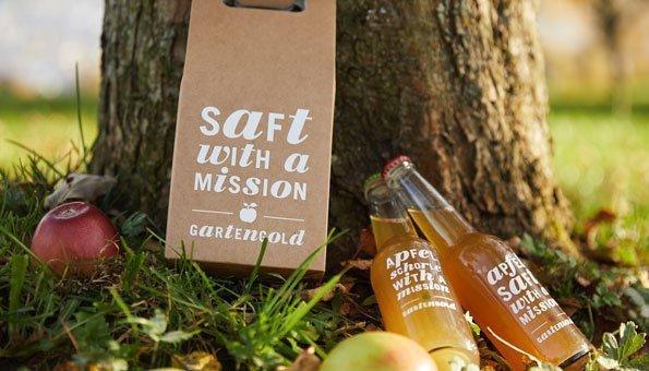 Wettbewerb: Gewinnen Sie 3x1 Geschenkset mit Apfelsaft von Gartengold
