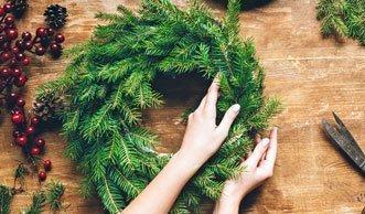 Grünes Licht für den Advent: Wie Sie den Kranz selber machen