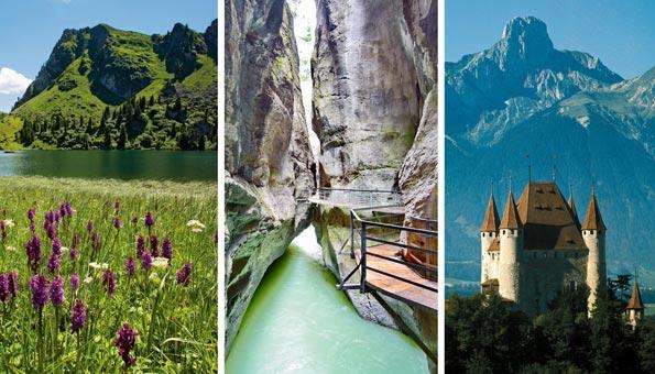 Ausflugsziele im Berner Oberland: die Top 10