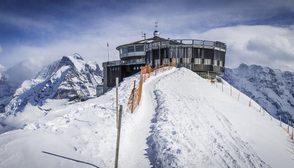 Ausflugsziele Schweiz Winter: Winterausflug auf das Schilthorn