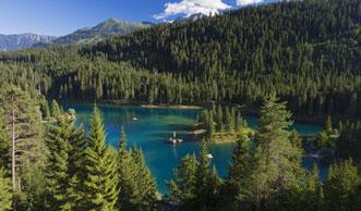 4 Spektakuläre Wanderungen am Caumasee