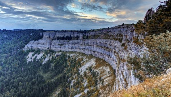 Reiseziele Schweiz: Creux du Van im Jura