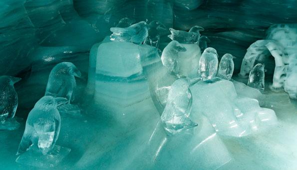 Eispaläste Schwarzsee und Jungfraujoch: Traumhafte Winterwelten