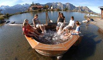 Die Natur entdecken auf den Erlebniswegen der Schweiz