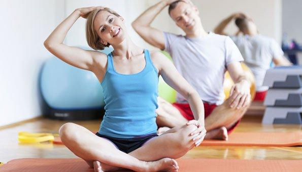 Yoga hilft der Gesundheit von Geist und Körper