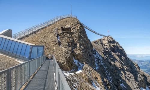 «Peak Walk»: Einmalige Verbindung zwischen 2 Gipfeln