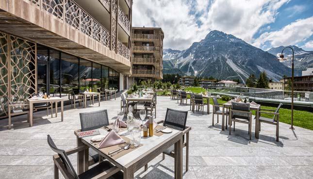 Bio-Hotel Valsana Tschuggen Group Arosa
