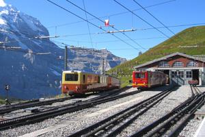 Ausflugsziele im Berner Oberland: Bahnhof Jungfraujoch