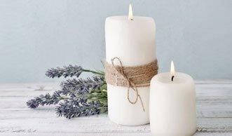 Leuchtendes Upcycling: Kerzen aus Wachsresten selber machen