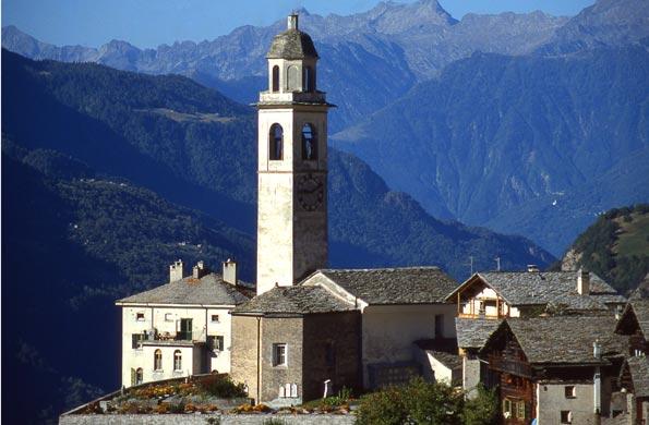 Kraftort in der Schweiz: Die Kirche St. Lorenzo in Soglio