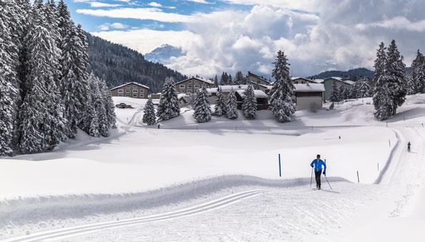 Langlauf Lenzerheide: Die schönsten Loipen der Lenzerheide von Valbella nach Lenzerheide