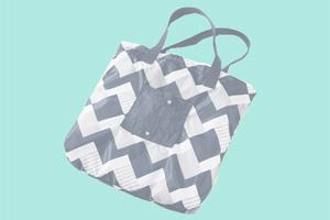 Last-Minute-Geschenke: Coole Ideen für nachhaltiges Schenken. Faltbare Einkaufstasche.