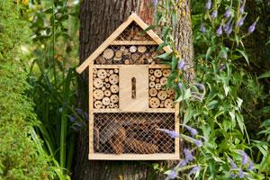 Last-Minute-Geschenke: Coole Ideen für nachhaltiges Schenken. Insektenhotel.