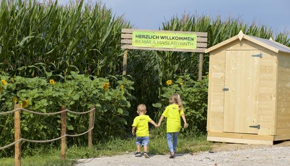 Die schönsten Maislabyrinthe der Schweiz - Maila Maislabyrinth Thurgau