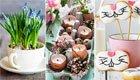 10 Ideen für Osterdeko mit Natur- und Recyclingmaterial