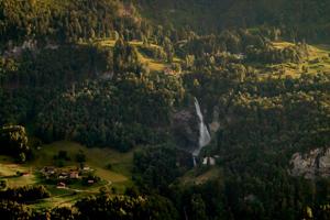 Ausflugsziele Berner Oberland: Die Reichenbachfälle