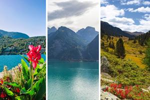 Reiseziele in der Schweiz