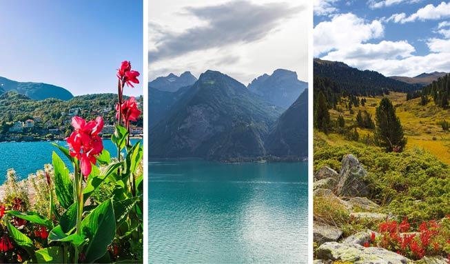 In der Schweiz um die Welt reisen: 12 Reiseziele für jede Jahreszeit